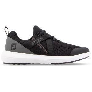 FootJoy Womens Flex Golf Shoes 2019 Black/Charcoal 95728