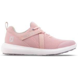 FootJoy Womens Flex Golf Shoes White/Rose