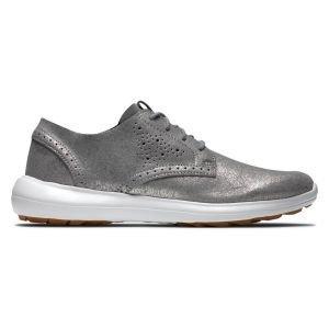 FootJoy Womens Flex LX Golf Shoes Silver Sparkle