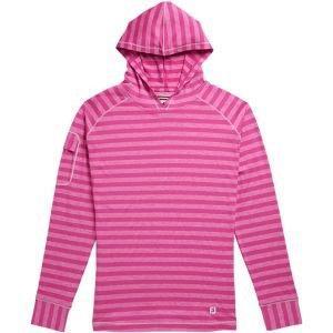 FootJoy Womens Jersey Melange Golf Pullover Hoodie Rose 27630