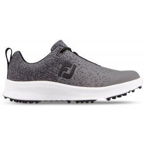 FootJoy Womens Leisure Golf Shoes Charcoal/Black