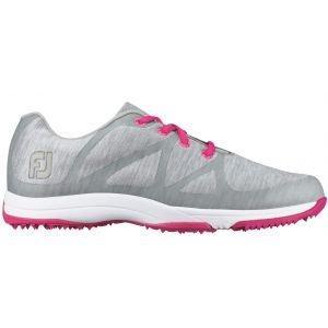 FootJoy Womens Leisure Golf Shoes Light Grey Space Dye - 92903