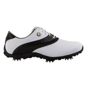 FootJoy Womens Lopro Collection Golf Shoes White/Black - 93927