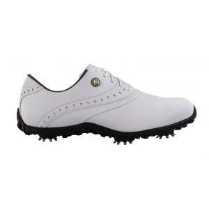 FootJoy Womens Lopro Collection Golf Shoes White - 93925