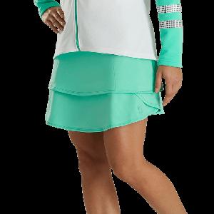 FootJoy Womens Performance Layered Golf Skort Jade Stone 26805