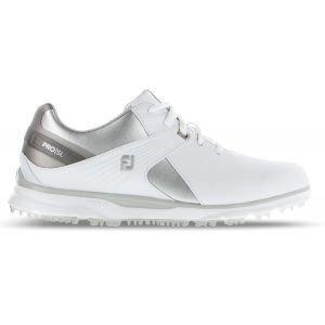 FootJoy Womens Pro SL Golf Shoes 2020 White/Grey - 98114