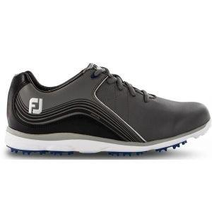 FootJoy Womens Pro/SL Spikeless Golf Shoes Charcoal/Black - 98102