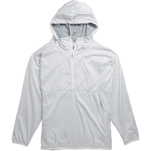 FootJoy Womens Pullover Anorak Golf Jacket Heather Grey 27610
