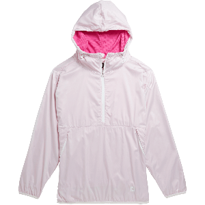 FootJoy Womens Pullover Anorak Golf Jacket Rose 27611
