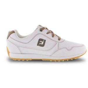 FootJoy Womens Sport Retro Golf Shoes White 92388 - ON SALE
