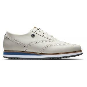 FootJoy Ladies Sport Retro Spikeless Golf Shoes White 92365