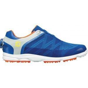 FootJoy Womens Sport SL Boa Golf Shoes - Blue/Light Grey 98031