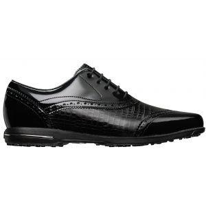 FootJoy Womens Tailored Collection Golf Shoes Black - 91688