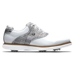 FootJoy Womens Traditions Golf Shoes White/Zebra