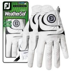 FootJoy Womens Weather Sof 2-Pack Golf Gloves