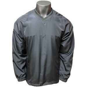 Forrester Long Sleeve V-Neck Lined Golf Windshirt
