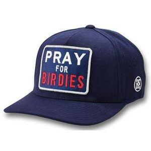 G/Fore Pray For Birdies Snapback Golf Hat - Twilight