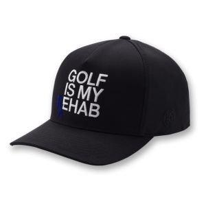 G/Fore Golf Is My Rehab Snapback Golf Hat 2020 - Onyx