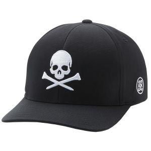 G/Fore Skull & Tees Snapback Golf Hat Onyx