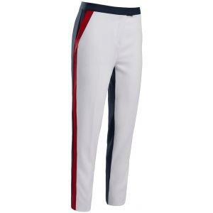 G/FORE Women's Straight Leg Color Block Trouser Golf Pants