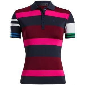 G/FORE Women's Stripes Golf Polo