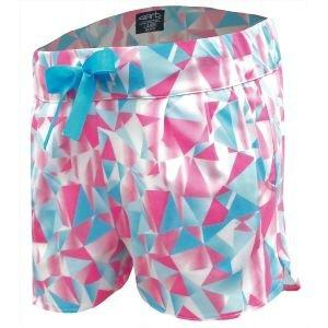 Garb Girls Junior Crystal Diamond Print Performance Golf Shorts