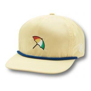 G/FORE Arnie Snapback Golf Hat Pale Yellow