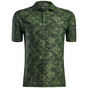 G/FORE Camo Printed Golf Polo