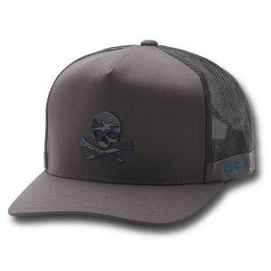 G/FORE Camo Skull & T's Snapback Golf Hat Charcoal