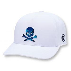 G/FORE Camo Skull Snapback Golf Hat Snow