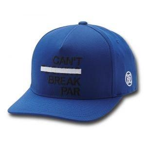 G/FORE Can't Break Par Snapback Golf Hat Lapis