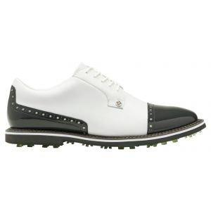 G/Fore Cap Toe Gallivanter Golf Shoes Snow/Charcoal