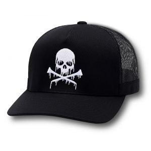 G/FORE Dripping Skull & T's Trucker Golf Hat Onyx