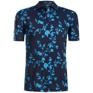 G/FORE Floral Golf Polo