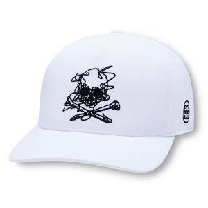 G/Fore Killer T's Sketch Snapback Golf Hat Snow
