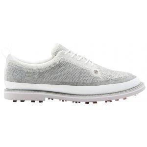 G/Fore Knit Tuxedo Gallivatner Golf Shoes Pearl/Snow
