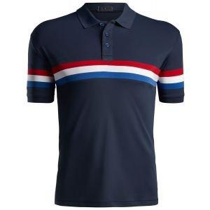 G/FORE Liberty Stripe Golf Polo