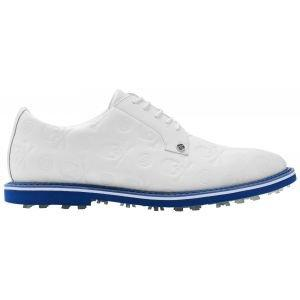 G/Fore Limited Edition Embossed Gallivanter Golf Shoes Snow/Lapis