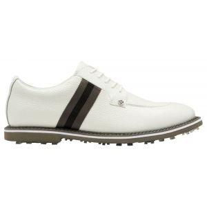 G/Fore Limited Edition Grosgrain Split Toe Gallivanter Golf Shoes Snow/Monument