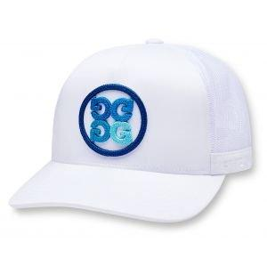 G/FORE Limited Edition Seasonal Trucker Golf Hat Snow