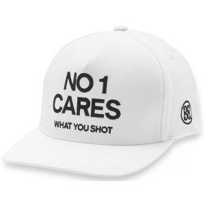 G/Fore No 1 Cares Snapback Golf Hat - Snow