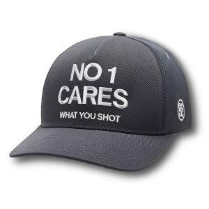 G/FORE No 1 Cares Snapback Golf Hat Charcoal