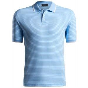 G/FORE Perforated Stripe Golf Polo