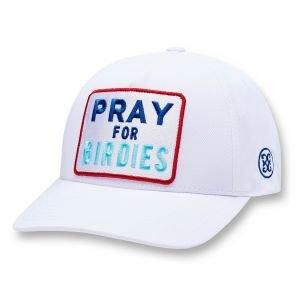 G/FORE Pray For Birdies Snapback Golf Hat Snow