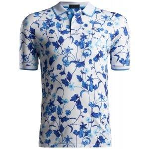 G/FORE Printed Floral Golf Polo