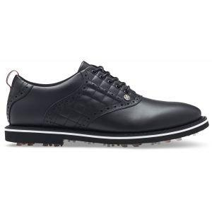 G/FORE Quilted Saddle Gallivanter Golf Shoes Onyx