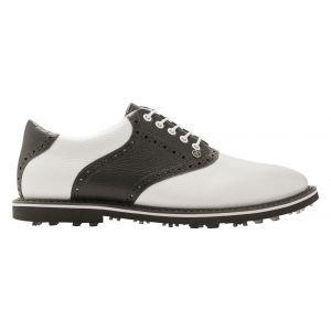 G/Fore Saddle Gallivanter Golf Shoes Snow/Charcoal
