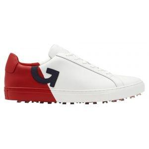 G/Fore Two-Tone Disruptor Golf Shoes Snow/Cherry