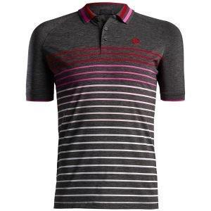 G/FORE Varigated Raglan Stripe Golf Polo