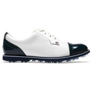 G/Fore Womens Cap Toe Gallivanter Golf Shoes 2020 - Snow/Twilight